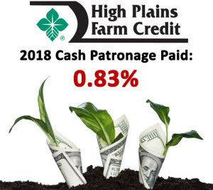 High Plains Stockholders to Receive Largest Ever Patronage