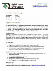 Loan Officer in Larned, KS